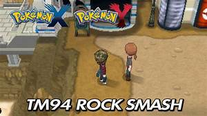 Pokemon X U0026 Y Where To Find Tm94 Rock Smash Youtube