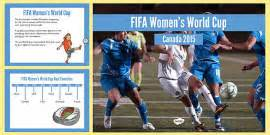 Womens Football World Cup 2015 Word Mat  Word Mat, Football
