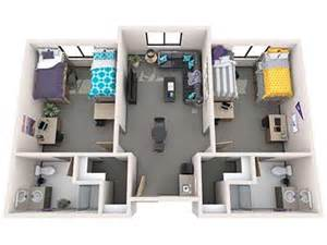 house plans with outdoor living space office of residence student housing grand