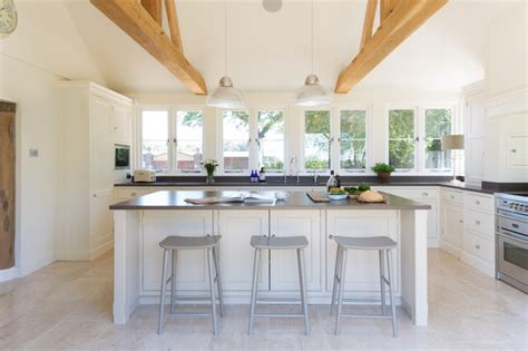 concrete cabinets kitchen the forge house hertfordshire classic painted 2420