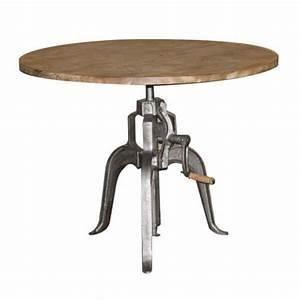 Table Ronde Industrielle : mobilier industriel tables chaises lampes mathi design ~ Teatrodelosmanantiales.com Idées de Décoration