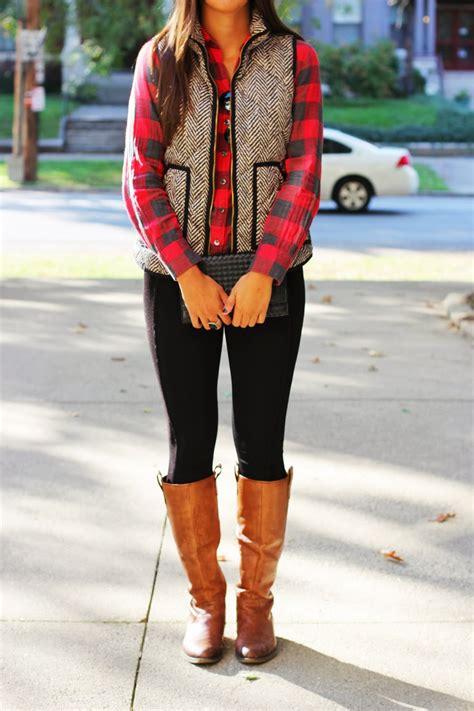 Fall Outfit Inspiration J.Crew herringbone vest! u2022 The Chambray Bunny