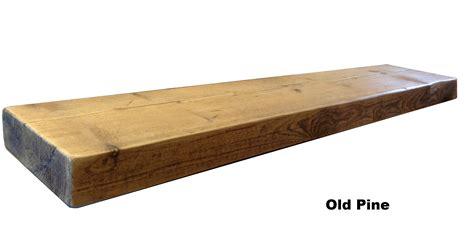 Reclaimed Chunky Floating Shelf Shelves Wooden Ebay
