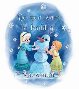 Printable DIY Frozen Elsa and Anna Do you want to build a ...