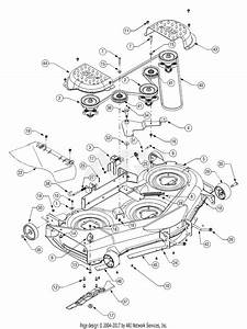 Mtd 13ar606p730  2005  Parts Diagram For Deck P