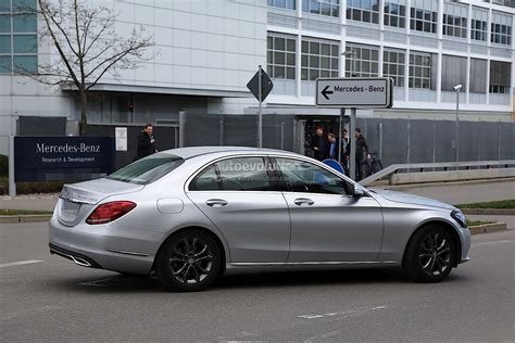 mercedes classic 2017 2017 mercedes benz c class facelift spied in germany