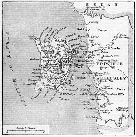 map penang inklings malaysia  maps straits