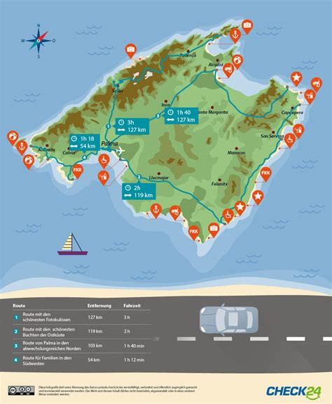 karte hotels mallorca kleve landkarte
