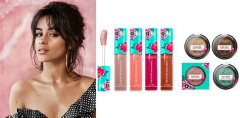 Camila Cabello Launching Havana Inspired Makeup With