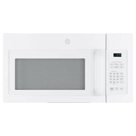 ge    cu ft   range microwave  white jvmdjww  home depot