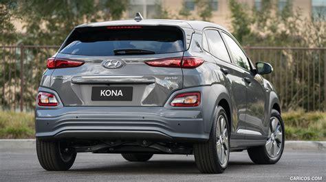 Hyundai Kona 2019 Wallpapers by 2019 Hyundai Kona Electric Rear Hd Wallpaper 22