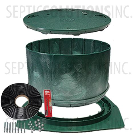 septic tank covers polylok 24 septic tank riser package 14 2161
