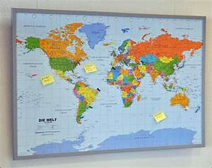 Weltkarte Auf Pinnwand : wissenschaftliche geschenkideen pinnwand welkarte ~ Markanthonyermac.com Haus und Dekorationen