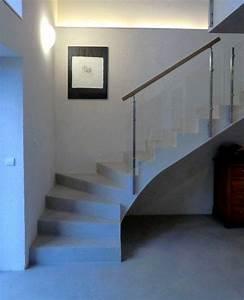 Escalier Colimaçon Beton : escalier quart tournant informations sur les formes d 39 escaliers escalier int rieur ~ Melissatoandfro.com Idées de Décoration
