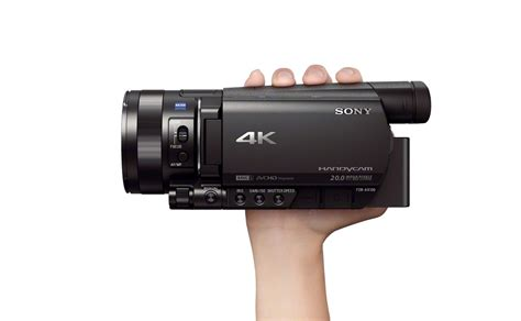 "Sony Fdrax100 4k Handycam With 1"" Sensor And 12x Optical"