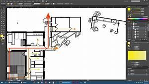 Adobe Illustrator  Floor Plan Diagrams Tutorial