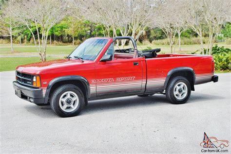 Very rare just 72,833 miles 1989 Dodge Dakota Convertible