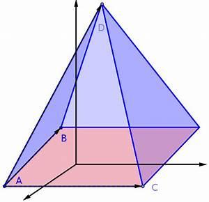 Volumen Einer Pyramide Berechnen : volumenberechnung in der analytischen geometrie mathe ~ Themetempest.com Abrechnung