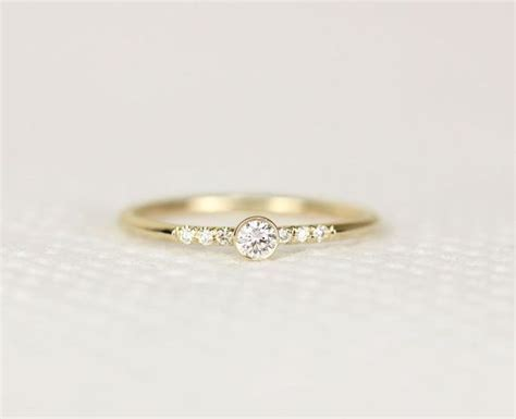 14k yellow gold engagement ring simple engagement