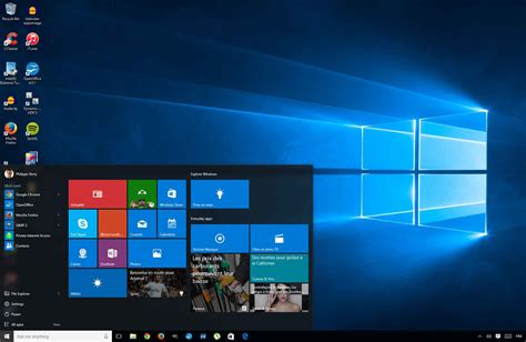 bureau windows à l envers installer la version finale de windows 10