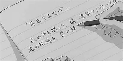 Writing Anime Title