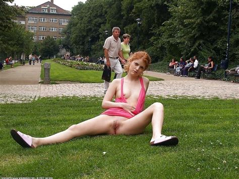 upskirt,spread,shaved,pussy,small tits,voyeur,redhead,outdoor,public nudity,bottomless,aaa ...