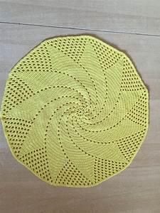 Set De Table Au Crochet : tuto set de table soleil au crochet sp cial gaucher ~ Melissatoandfro.com Idées de Décoration