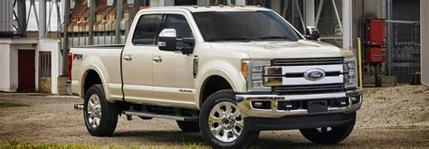 What Are The Colors Offered On The 2017 Ford Super Duty?
