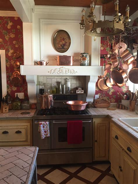 copper kitchen  felicia blair realtor  antique french copper cookware copper pots display