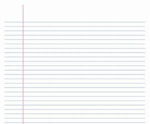 Notebook Paper Template  U00bb Exceltemplate Net