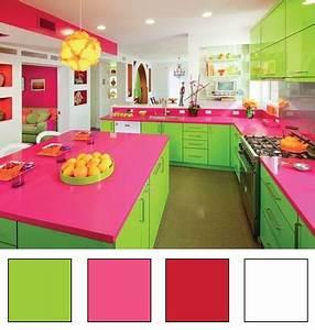 la couleur dans la cuisine deco en nuances With couleur chaudes et froides 10 la couleur dans la cuisine deco en nuances