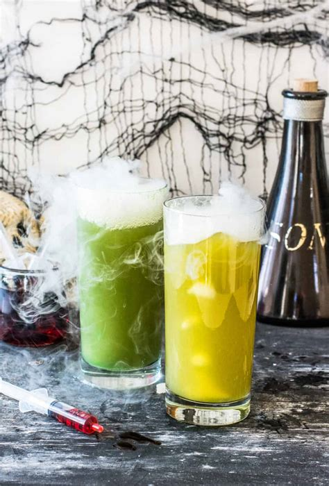 halloween punch recipe zombie alcoholic drinks drink party friendly recipes non thebutterhalf beverage parties