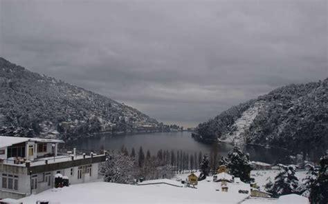 nainital snowfall snow winter hotel savor experiences