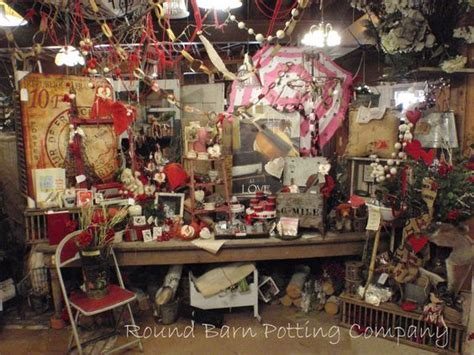 Round Barn Potting Company In Andover. Quite The Display