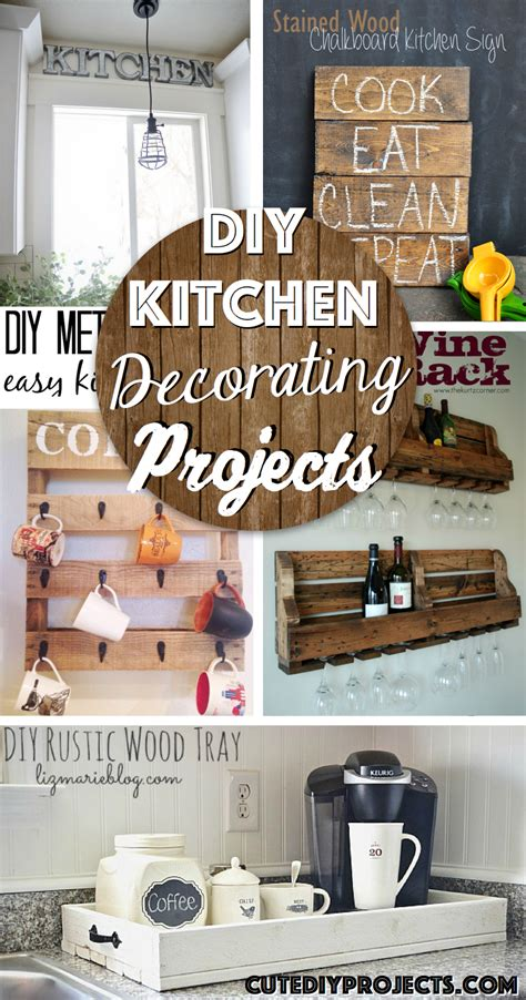 diy ideas for kitchen the 35 best diy kitchen decorating projects diy