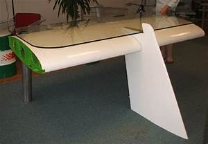 deborah recycled airplane wing desk by reestore With airplane wing desk what is design and materials