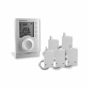 Thermostat Radiateur Electrique : programmateur 2 zones pour chauffage lectrique achat ~ Edinachiropracticcenter.com Idées de Décoration