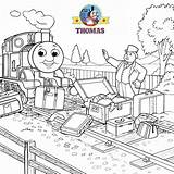 Thomas Train Coloring Pages Friends Tank Engine James Cartoon Games Older Face Fun Controller Fat Railway Toys Splendid Smiling Says sketch template