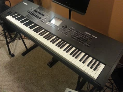 yamaha motif xf8 yamaha synthesizers workstations mint yamaha motif xf8 pre owned now available hammond