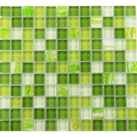 green glass tiles kitchen glass mosaic tile backsplash glass wall tiles yf mtlp22 3989