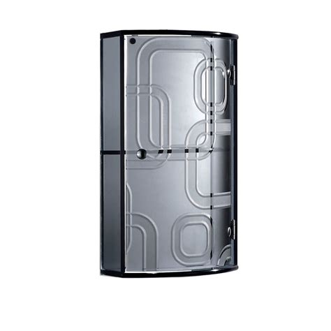 bathroom cabinet with glass doors bathroom wall mounted black crystal glass cabinet with