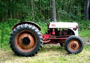 File Ford 8n Tractor  Side View Jpg