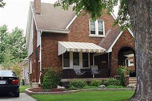 Pleasant, Front, Porch, Awning, Ideas, U2014, Randolph, Indoor, And, Outdoor, Design