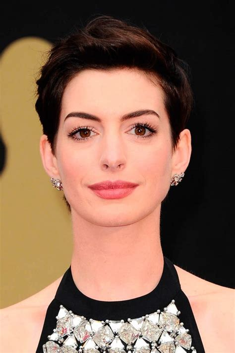 Every single time anne hathaway short hair shows up, it leaves people speechless. Short Hairstyles: 100+ celebrity cuts to inspire your new 'do