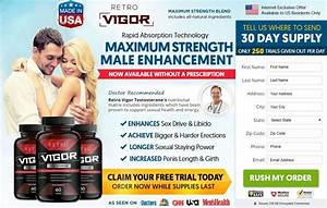 Retro Vigor Testosterone  U2013 Natural Ingredients Read Benefits  Reviews