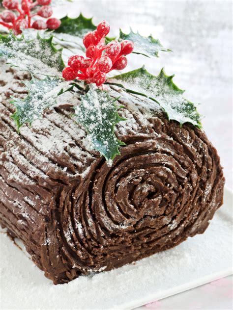 yule log cake recipe dessert recipe chocolate yule log 12
