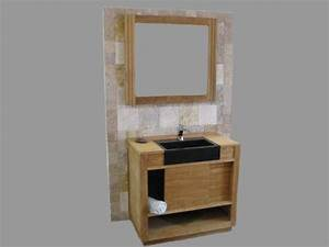 Armoire salle de bain porte coulissante for Porte de douche coulissante avec conforama meuble colonne salle de bain