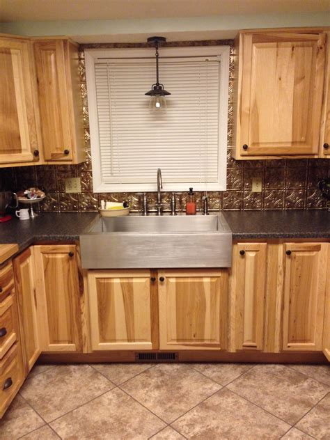 style lighting kitchen sinks country lights  sink