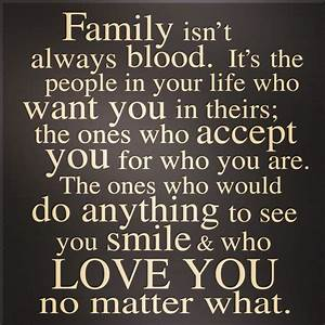 Family isn'... Family Blood Quotes