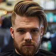 Long Comb Over Fade Hairstyle